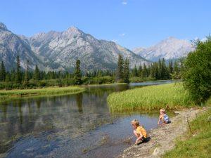 rivier Banff