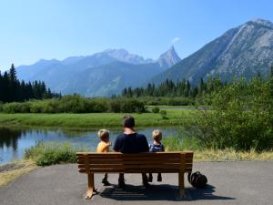 Canada Banff wandeling
