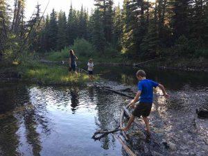 Canada Kananaskis wandeling rivier