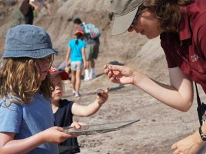 Canada Drumheller fossielen zoeken