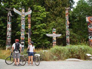 Vancouver stanley park totempalen