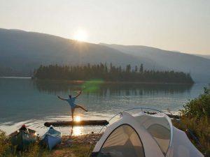 Canada kamperen Revelstoke