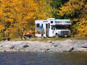 Canada camperreis - herfstkleuren