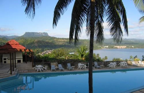 Zwembad hotel Baracoa