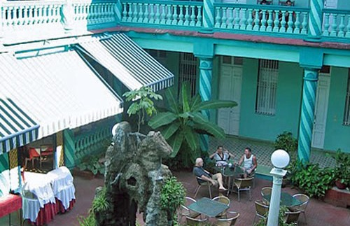 Patio hotel Camaguey