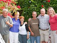 Cubaanse familie, casa particular