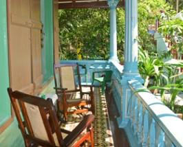 Patio van casa Baracoa