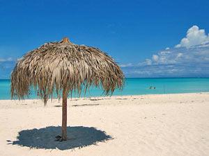 Wat een perfect strand...