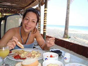 ontbijt Cayo Levisa