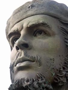 Beeld van Che Guevara - Cuba reis