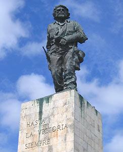 Standbeeld Ché - Santa Clara