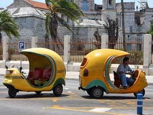 Cocotaxi's in Varadero - Cuba reis