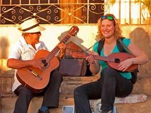Complete reis Cuba gitaarspelen