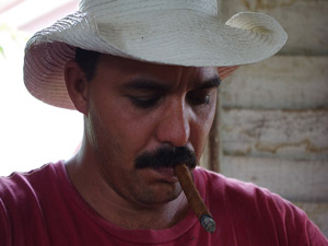 Een tabaksboer in Viñales, reisverslag