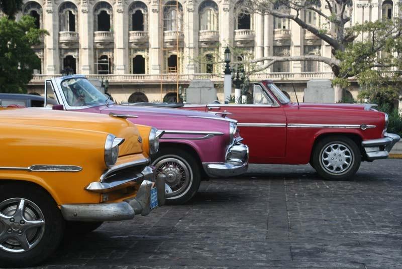 Oldtimers tijdens je Cuba vakantie