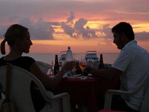 Zonsondergang - rondreizen Cuba