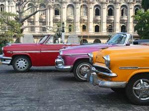 Cadillacs in Havana - rondreis Cuba