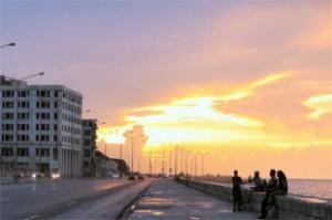 Cuba vakantie: de malecon van Havana