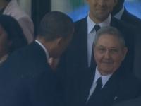 Handdruk Obama Castro