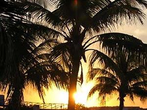 Zonsondergang - Cuba reizen