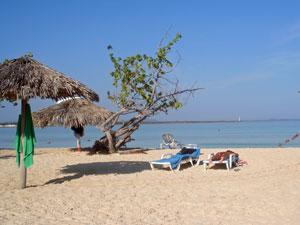 Uitrusten op Playa Pesquero