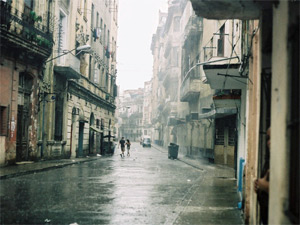 reiservaring Cuba regen