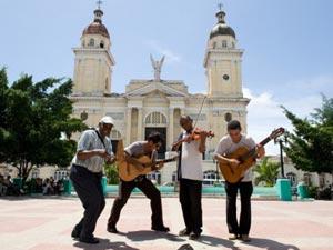 Centrale plein, Santiago de Cuba