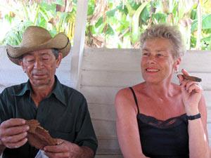 Sigaren rollen - Vinales Cuba