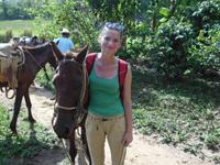 Reisblog Cuba, paardrijden Vinales