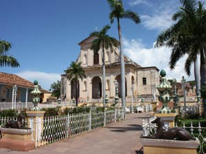 Kerkje Trinidad - reis Cuba