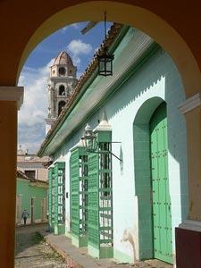 Cuba reizen - Straatje in Trinidad