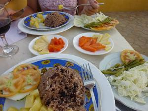 vegetarisch eten Cuba