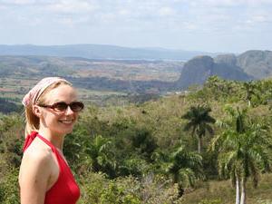 Uitzicht Vinales - reizen Cuba