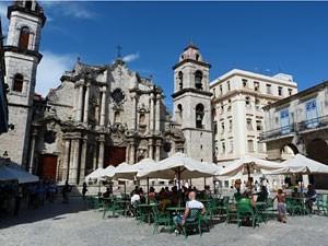 Havana-plein-kathedraal