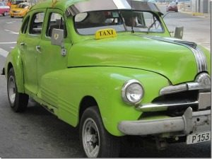Oldtimer taxi