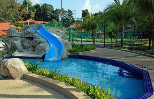 robinson glijbaan bungalow maleisie