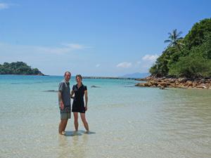 sibu ouders strand maleisie