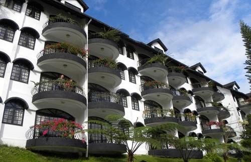 comfort hotel aanzicht maleisie