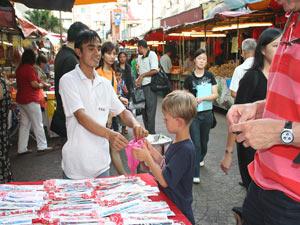 china town familiereis Maleisië