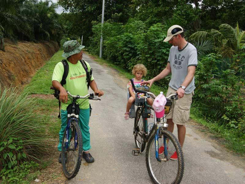 fietstocht rondreis Maleisië met kids