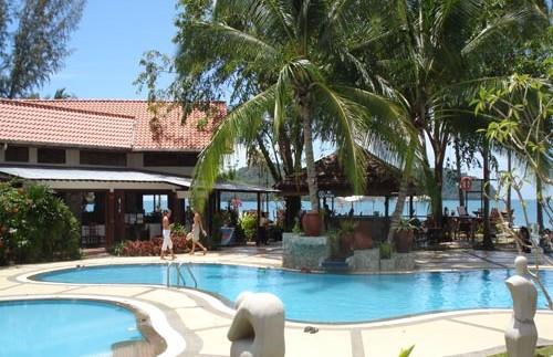 langkawi resort zwembad maleisie