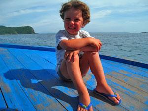Vervoer Maleisië met kinderen - boot