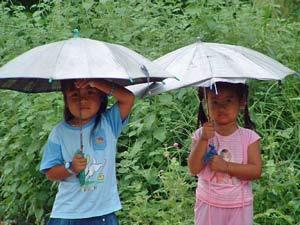 maleisie kids tropische bui