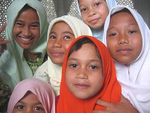 meisjes locaal maleisie