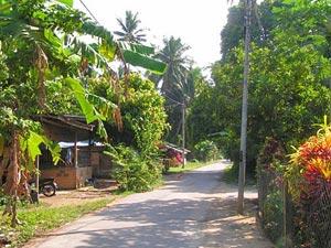 melaka fietstocht lege weg maleisie