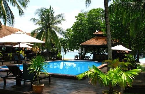 redang resort zwembad maleisie