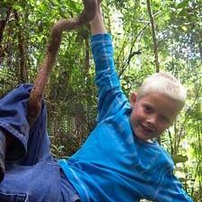 Taman Negara jungle met kinderen