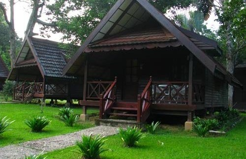 taman negara tuin bungalow maleisie