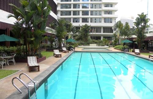 zwembad hotel maleisie