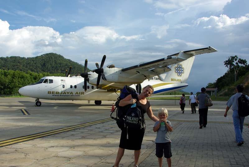 Binnenlandse vlucht tijdens je Maleisie reis